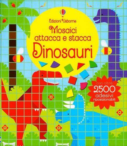 Mosaici Attacca e Stacca - Dinosauri