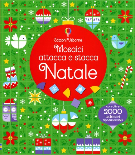 Natale - Mosaici Attacca e Stacca