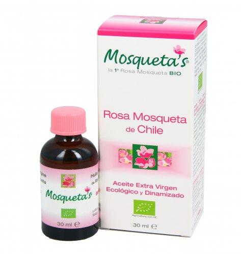 Olio Extra Vergine Rosa Mosqueta del Cile - Confezione Bianca
