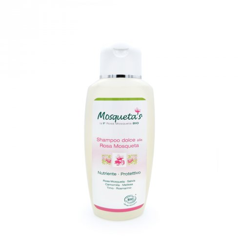 Shampoo Dolce con Rosa Mosqueta