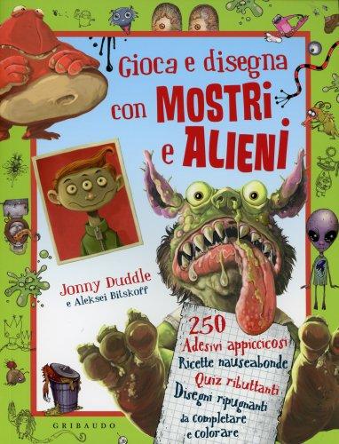 Gioca e Disegna con Mostri e Alieni