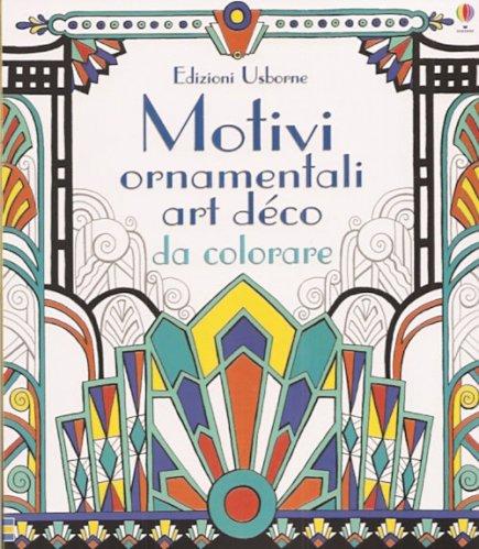 Motivi Ornamentali Art Déco da Colorare