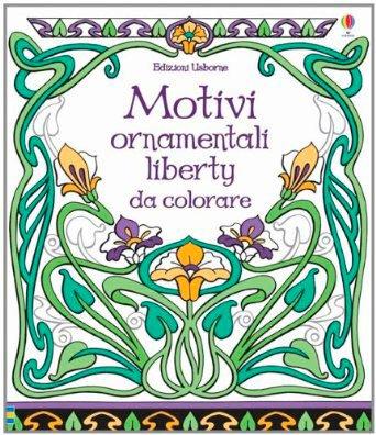 Motivi Ornamentali Liberty da Colorare