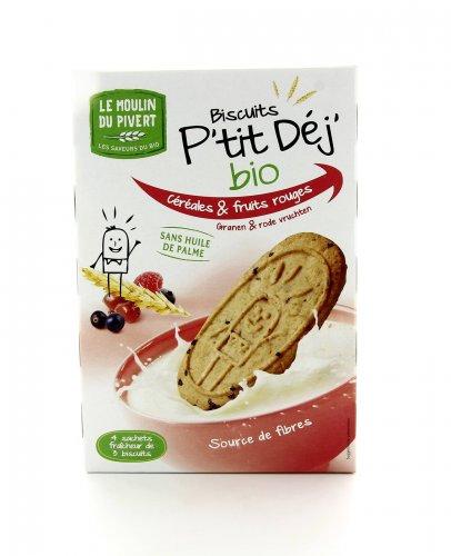 P'tit Dej' - Biscotti ai Cereali e Frutti Rossi
