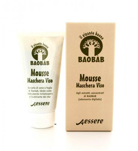 Mousse Maschera Viso al Baobab