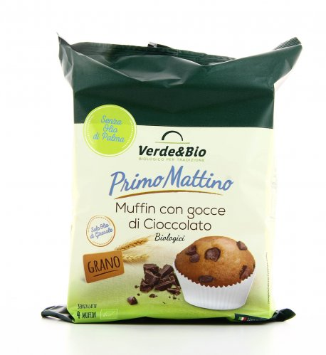 Primo Mattino - Muffin con Gocce di Cioccolato