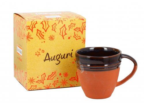 Tazza Mug in Terracotta