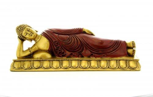 Buddha nella Posizione del Nirvana