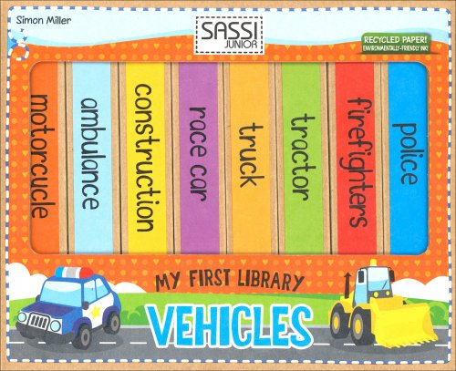My First Library - Vehicles