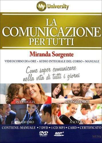 La Comunicazione per Tutti - Corso Completo 7 DVD, 1 CD Mp3 e Manuale