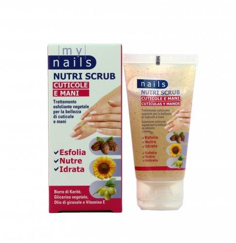Trattamento Esfoliante per Cuticole e Mani- My Nails Nutri Scrub