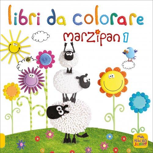 Libri da colorare marzipan 1 libro di macro junior - Libri da colorare di fiori ...