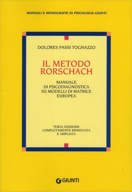 Il metodo rorschach libro di dolores passi tognazzo - Psicologia tavole di rorschach ...