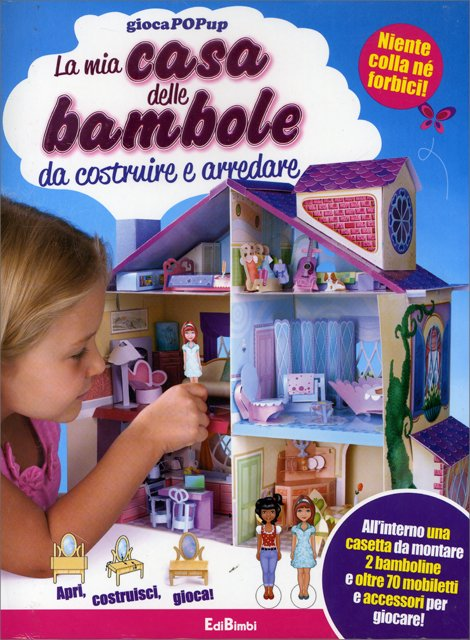 La mia casa delle bambole da costruire e arredare for Trova planimetrie per la mia casa
