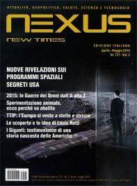 NEXUS NEW TIMES N. 121 - APRILE/MAGGIO 2016 Rivista bimestrale - Edizione italiana di Rivista bimestrale - Edizione italiana