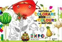 Natura da Colorare Italiano-Inglese