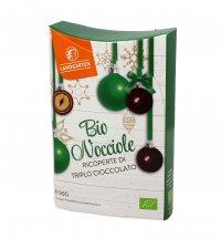 Nocciole Bio Ricoperte di Triplo Cioccolato