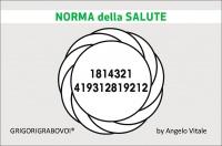 Tessera Radionica 51 - Norma della Salute