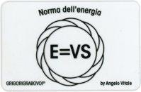Tessera Radionica - Norma dell'Energia