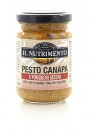 Pesto Canapa e Pomodori Secchi Biologico