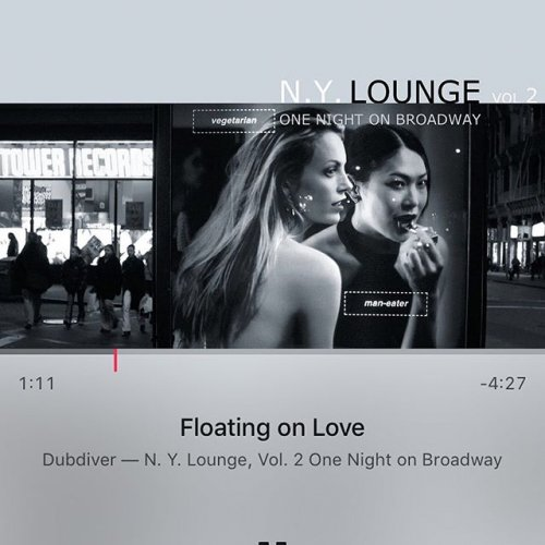 N.Y. Lounge Vol. 2 - One Night On Broadway CD