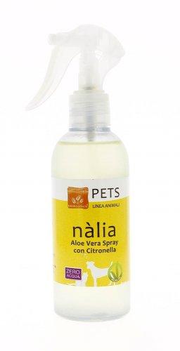 Nàlia - Aloe Vera Spray con Citronella per Animali