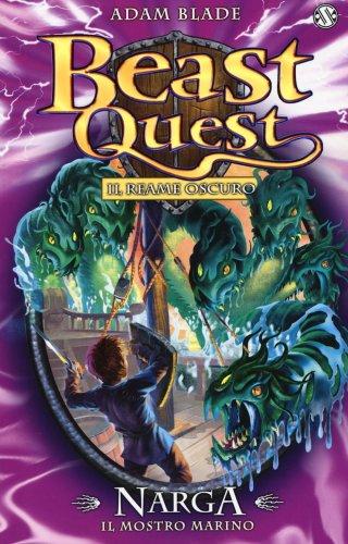 Narga. Il Mostro Marino. Beast Quest