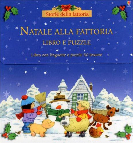 Natale alla Fattoria - Libro e Puzzle