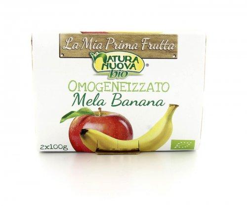 Omogeneizzato - Mela e Banana Bio