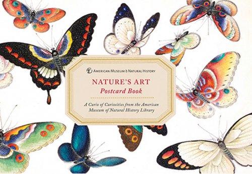 Cartoline - Postcard Book Nature's Art American Museum & Natural History