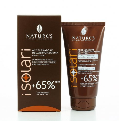 Acceleratore  Abbronzatura +65% - Nature's (I Solari)