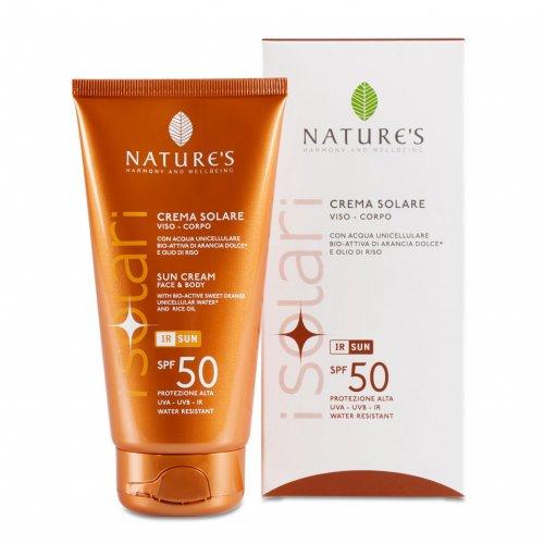 Crema Solare Viso Corpo Spf 50 - Nature's (I Solari)