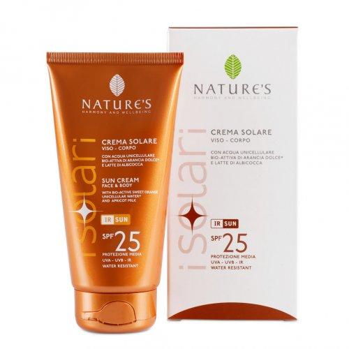 Crema Solare Viso e Corpo Spf 25 - Nature's (I Solari)