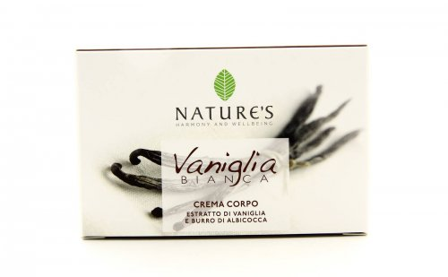 Vaniglia Bianca - Crema Corpo