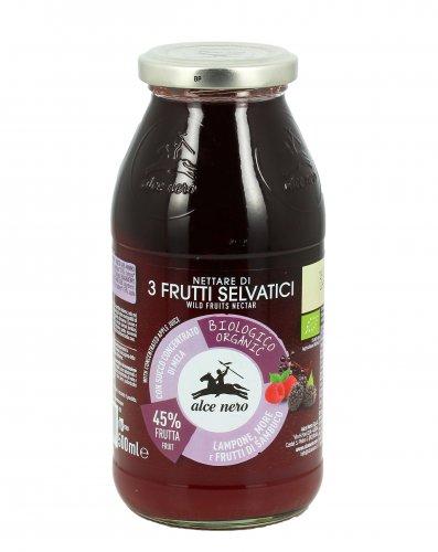 Succo di Frutta Bio - Nettare di 3 Frutti Selvatici