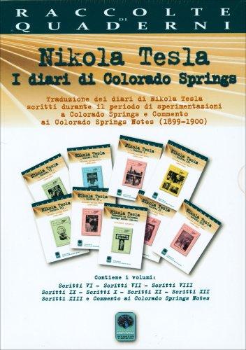 Cofanetto: Nikola Tesla - I Diari di Colorado Springs