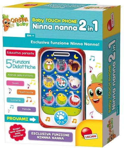 Carotina Baby - Touch Phone Ninna Nanna 2 in 1