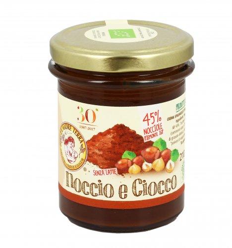 Crema Dolce Spalmabile - Noccio e Ciocco