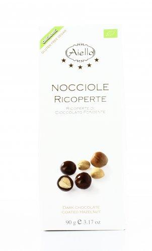 Nocciole Ricoperte di Cioccolato Fondente