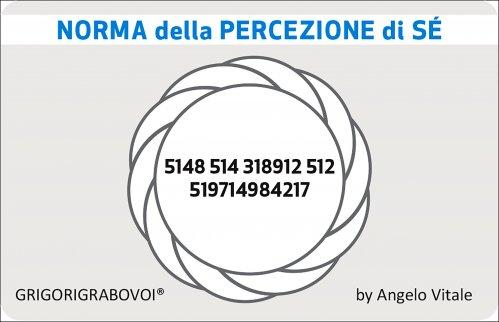 Tessera Radionica 77 - Norma della Percezione di Sé
