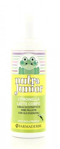 Nutra Junior - Citronella Latte e Corpo