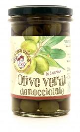 Olive Verdi Denocciolate in Salamoia