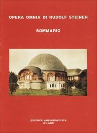 Opera Omnia di Rudolf Steiner - Sommario
