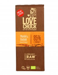 Cioccolato Fondente Bio con Mandorle e Baobab 85% Cacao