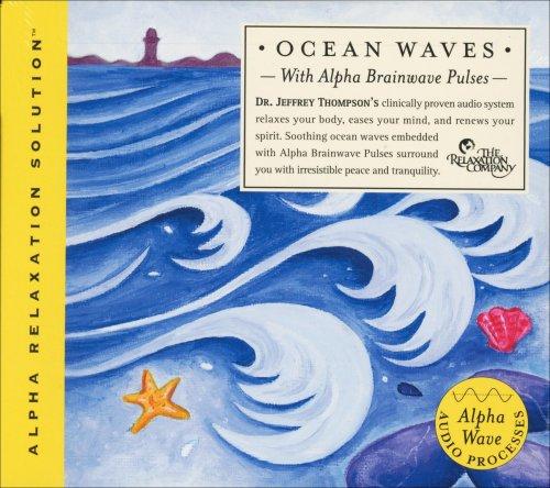 Ocean Waves with Alpha Brainwave Pulses