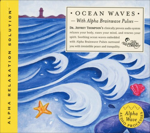 Ocean Waves with Alpha Brainwave Pulses