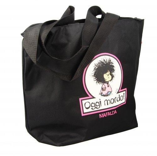"Borsa Shopper con Mafalda ""Oggi Mordo"""