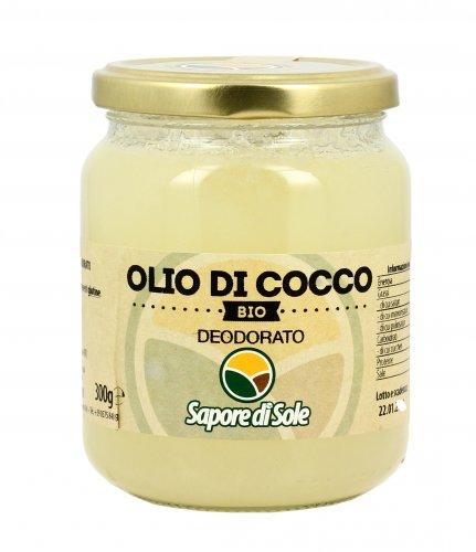 Olio di Cocco Bio Deodorato