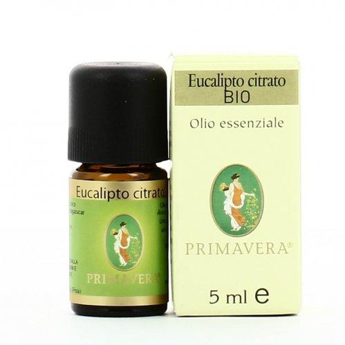 Olio Essenziale Eucalipto Citrodora Bio - 5 ml.
