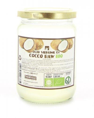 Olio Vergine di Cocco Raw Bio